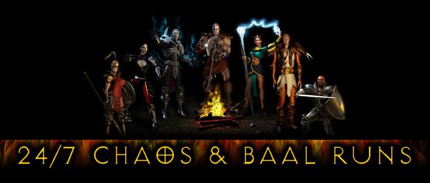 24/7 Chaos and Baal Runs!